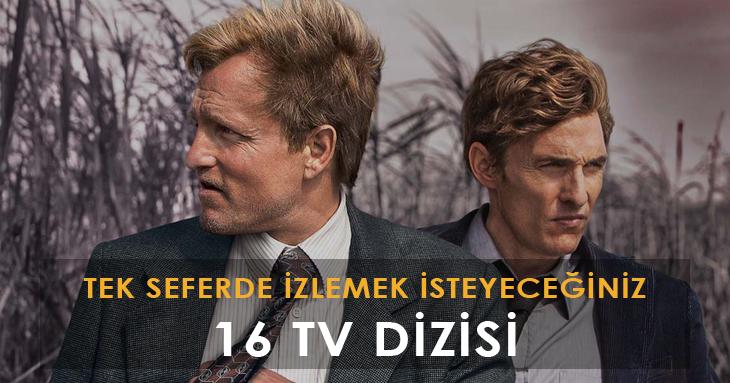 Tek seferde izlemek isteyeceğiniz 16 TV dizisi