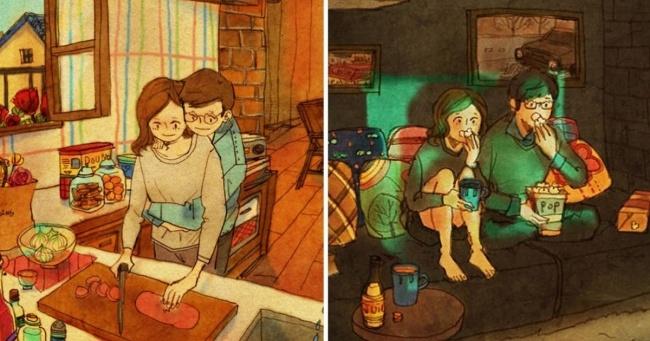 Aşk küçük şeylerde gizlidir...
