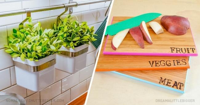 Mutfağınızı 1 Saatten Az Bir Sürede Dekore Etmenin En Kolay 10 Yolu