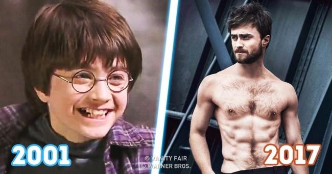 Harry Potter Oyuncularının 17 Yıldaki Etkileyici Değişimleri