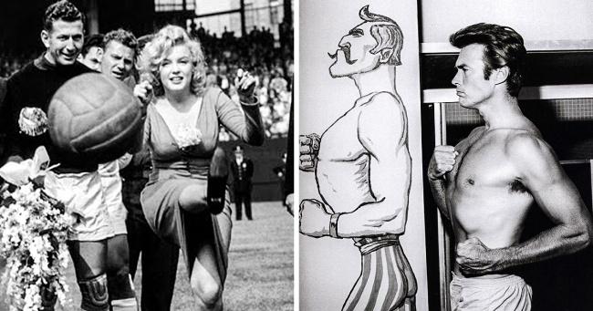 Sanattan Spor Camiasına Kadar Ünlülerin Daha Önce Görmediğiniz Fotoğrafları