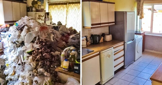 Önce ve Sonrası İle İçinizi Ferahlatacak Temizlik Fotoğrafları