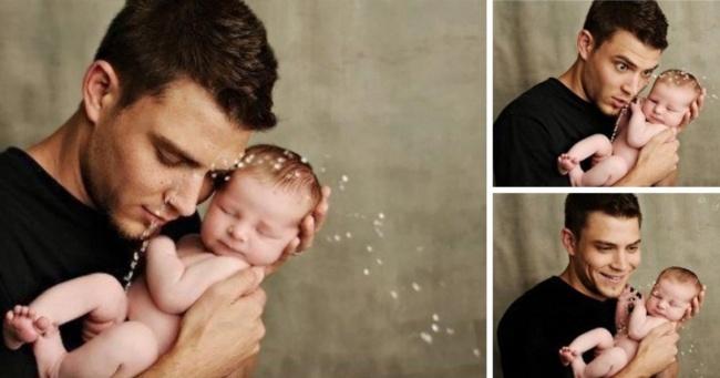 Mutlu Babalar ve Bebeklerinin 20 Sevimli Fotoğrafı