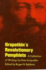 Revolutionary Pamphlets byPeter Kropotkin