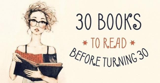 30 Yaşına Gelmeden Önce Okumanız Gereken 30 Harika Kitap